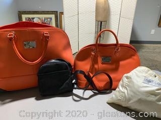 Lot of Bags and Travel Items (4 Bags)