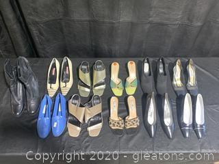Large Lot of Womens Designer Shoes