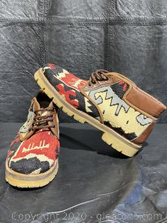 Country Shoe Kilim Boots
