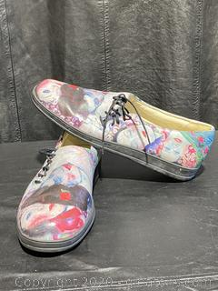 Jeon Art Graphic Slip-On Shoes