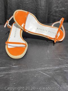 Walter Steiger Orange Mignon Sandals