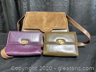 Salvatore Ferragamo Shoulder & Cosmetic Bags