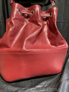 Metamorphoza Red Shoulder Bag
