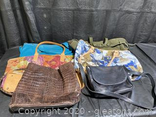 Collection Of Leather Purses