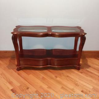 2 Tier Foyer/Sofa Table