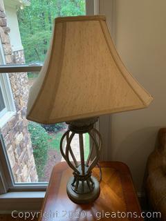 Metal Table Lamp (B)