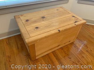 Hardwood Storage Chest