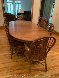 Walter of Wabash Dining Table and Chairs