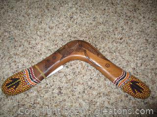 New Highly Detailed Boomerang