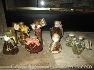 """Lot of """"Candle Oil Lamps"""""""