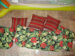 Outdoor Cushions lot