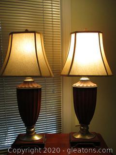 Set of 2 Matching Lamps
