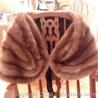 Vintage Fur Stole From the Wm. H.Block Co.Indianapolis