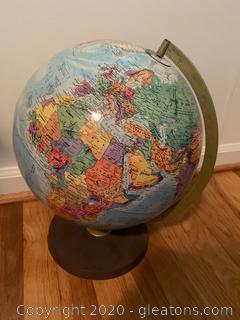 World Nation Series Tabletop Globe