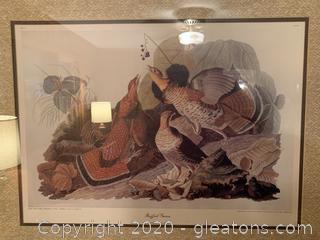 """Ruffled Grouse"" Audubon Havell Edition"