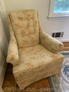 Vintage Low Earlon Furniture Rocking Accent Chair