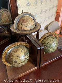 Old World Centered Decor All Wood