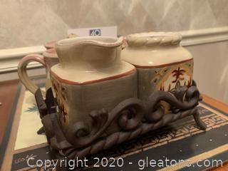 Deneen Pottery Mugs and Kitchen Helpers