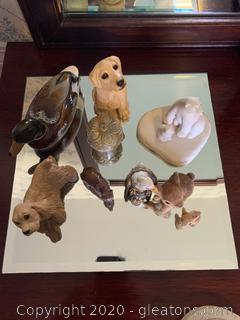 Collection of Small Animal Figurines