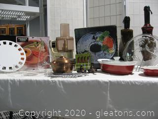 Cooking and Entertaining Lot
