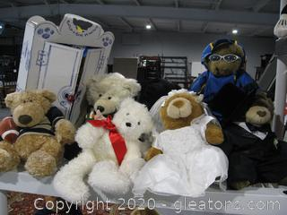 Collection Of Teddy Bears (A)