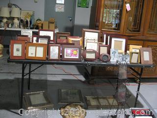 Massive Lot Of Picture Frames