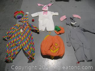 Young Children's Halloween Costumes