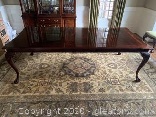 Thomasville Extendable Dining Table