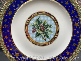 "Versace ""Floral Elegy"" Salad Plate"