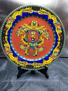 "Versace ""Le RoiSoleil"" Dinner Plate"
