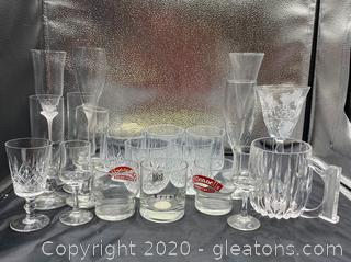 Collection of Drinking Glasses