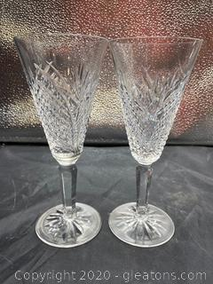 Waterford Mooncoin Cut Champagne Flute