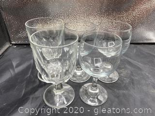 Short Stem Drinking Glasses