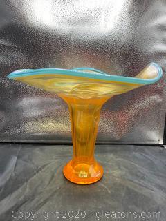 Kosta Boda Stem & Leaf Vase