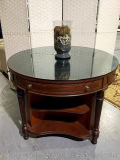 Henredon Table W/Storage