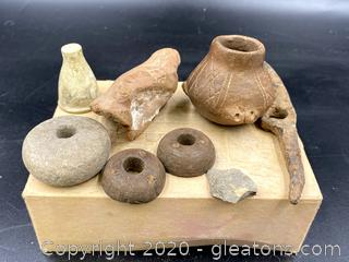 Collection of Ancient Primitive Items