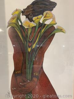 """Sweet Lillies"" by Charles Bibbs (Print)"