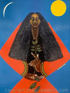 """Medicine Woman"" by Charles Bibbs and Cynthia Saint James"