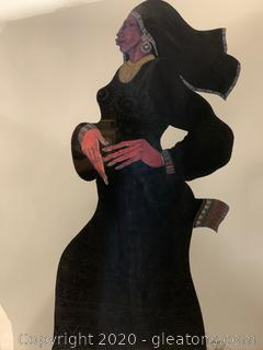 """Lady in Black II"" by Charles Bibbs"
