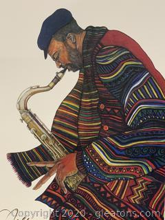 """Jazzin"" by Charles Bibb"