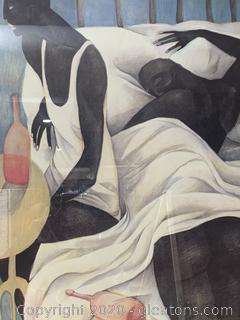 """""""La Luna Dyuda"""" by Ana Juan"""