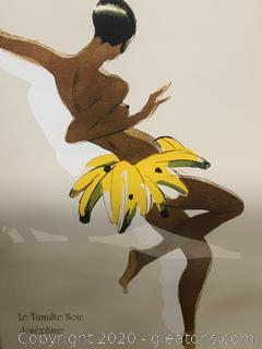 """Le Tumulte Noir"" (Josephine in Banana Skirt) by Paul Colin"