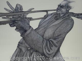 Charles Bibbs B'Jazzed Festival 1994 Poster