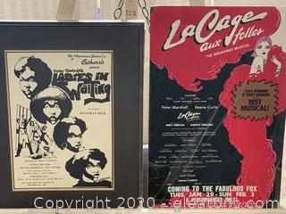Pair of Theater Posters
