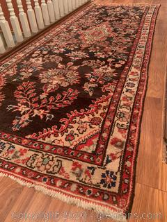 Low Pile Hand Woven Persian Style Rug