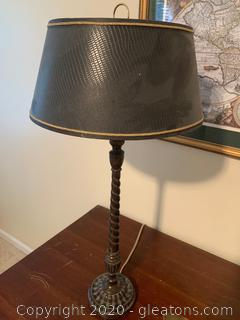 Neoclassical Oversized Table Lamp