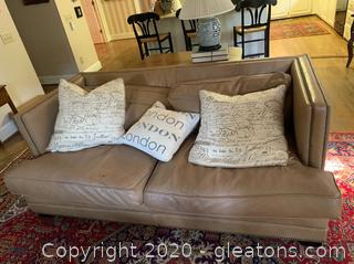 Restoration Hardware Deep Set Modern Couch
