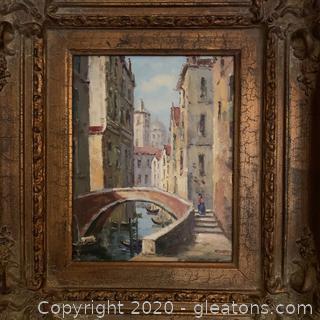 Venice Street Scene by Redcel