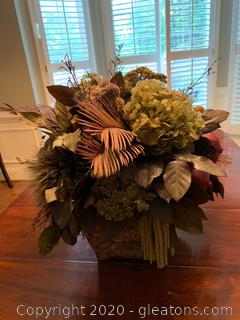Mediterranean Faux Fern Arrangement
