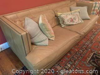 Restoration Hardware Deep Set Modern Couch (B)